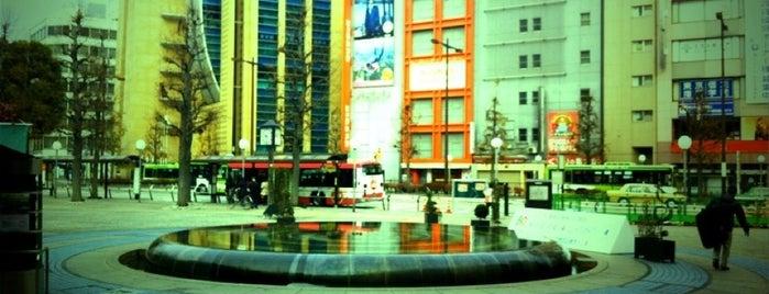 Ikebukuro Nishiguchi Park is one of 豆知識.