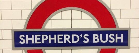 Shepherd's Bush London Underground Station is one of Tube Challenge.