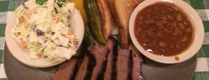 Clark's Outpost BBQ is one of Food Paradise.