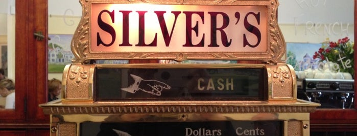 Silver's Restaurant is one of Lets go 200.
