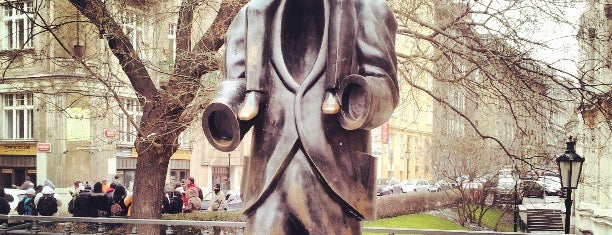 Franz Kafka Statue is one of Praga 3 Dias.