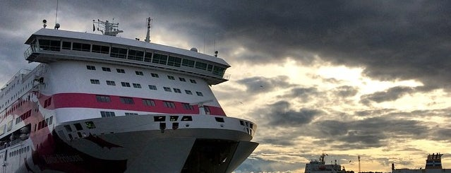 Tallink Silja M/S Baltic Princess is one of outdoor.