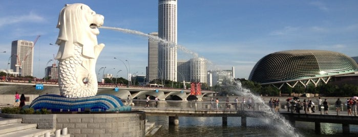 The Merlion is one of Favorite Places Around the World.