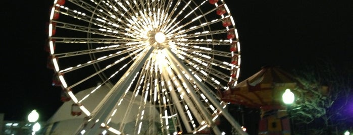 Ferris Wheel at Navy Pier is one of Chicago RDJ 2012.