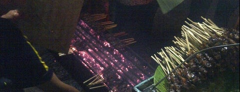 "Sate Maranggi ""Sari Asih"" is one of jihan."