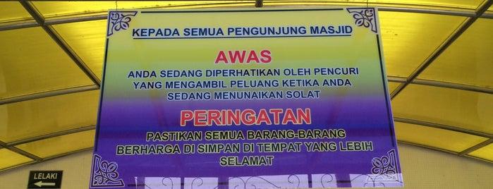 Masjid Sultan Mahmud Kuala Berang is one of @Hulu Terengganu.