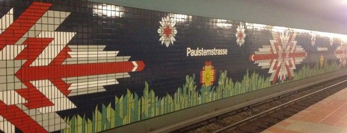 U Paulsternstraße is one of U-Bahn Berlin.