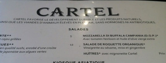 Cartel is one of Montreal City Guide.