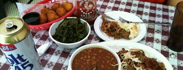 Georgia's Eastside BBQ is one of Where to #EatDownTipUp.