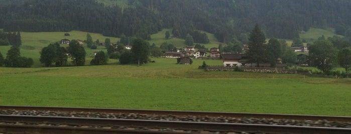 Kirchberg in Tirol is one of MTB Downhilltrails Kitzbüheler Alpen.