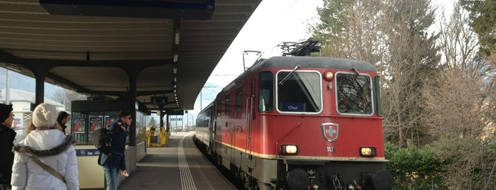 Bahnhof Bad Ragaz is one of Bahnhöfe Top 200 Schweiz.