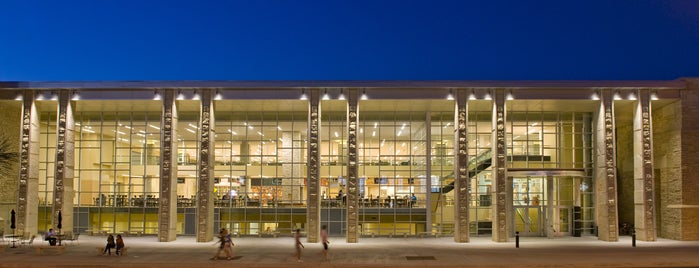 MU Student Center is one of MU History Tour.