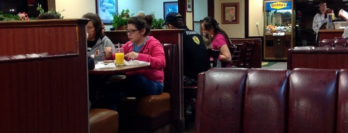 Denny's is one of Recycle Hotspots.