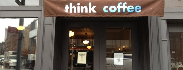 Think Coffee is one of #RallyDowntown Scavenger Hunt.