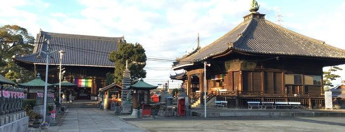 Doryu-ji is one of 四国八十八ヶ所霊場 88 temples in Shikoku.