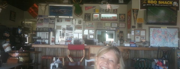 "The BBQ Shack is one of ""Diners, Drive-Ins & Dives"" (Part 1, AL - KS)."
