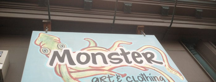 Monster Art and Clothing is one of The 15 Best Clothing Stores in Seattle.