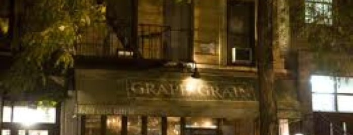 Grape and Grain is one of Bars.