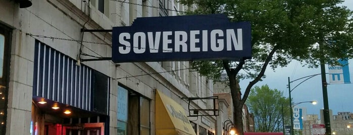 Sovereign Liquors is one of Must-visit Bars in Chicago.