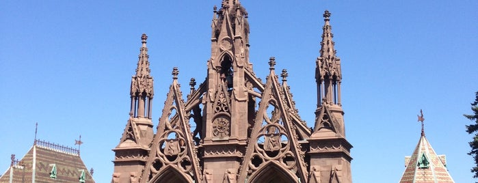 Green-Wood Cemetery is one of NY.