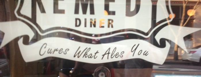 The Remedy Diner is one of Raleigh Favorites.