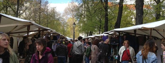 Wochenmarkt Arkonaplatz is one of My Berlin.