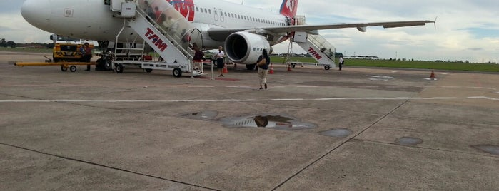 Check-in TAM is one of Aeroporto Internacional de Campo Grande (CGR).