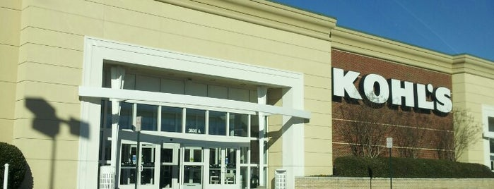 Kohl's is one of North Ga chill spots.