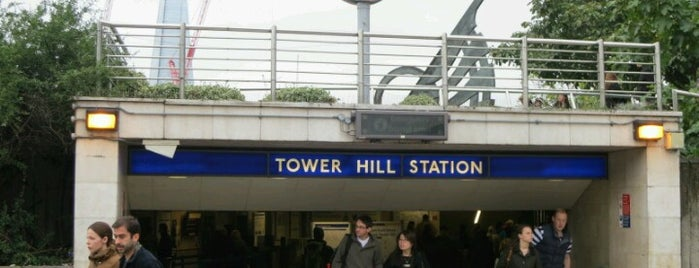 Tower Hill London Underground Station is one of Zone 1 Tube Challenge.