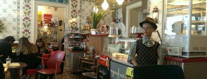 Café Sorgenfrei is one of Berlin Tasty Food.