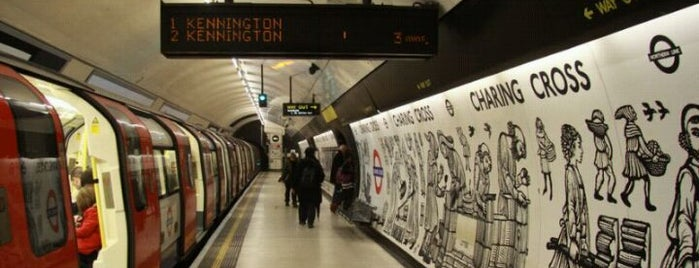 Charing Cross London Underground Station is one of Zone 1 Tube Challenge.