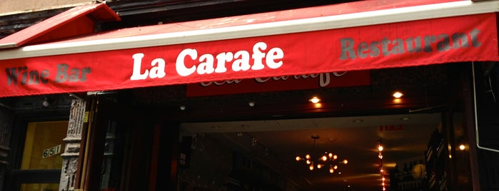 La Carafe is one of NYC Bucket List.