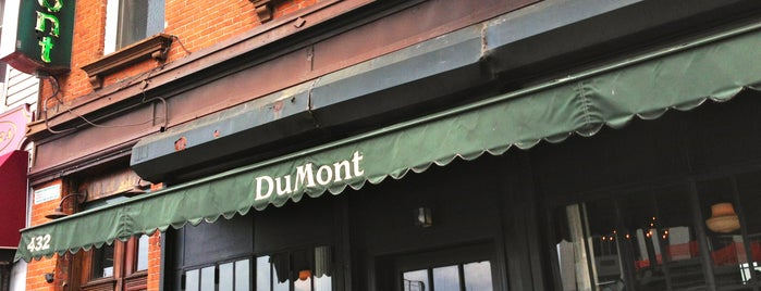 DuMont is one of New dinner spots to try.