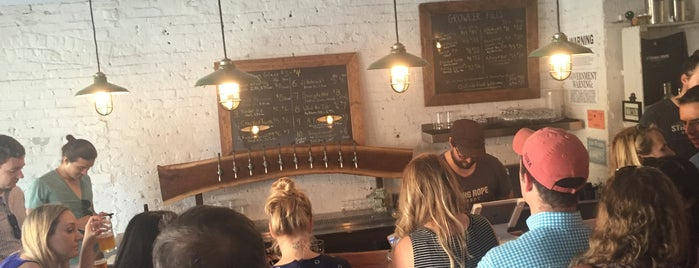 Strong Rope Brewery is one of Beer Here!.