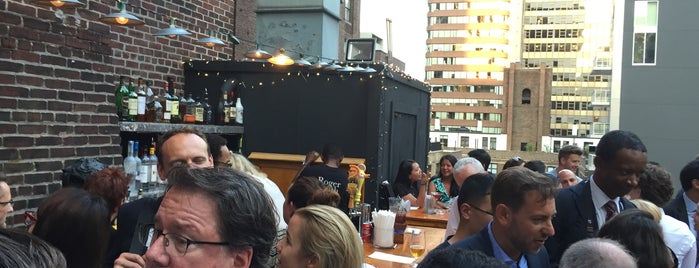 Henry's Roof Top Bar - @RSHotel is one of Where to imbibe.
