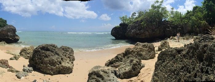 Padang-Padang Beach is one of Beautiful Beaches in Bali.