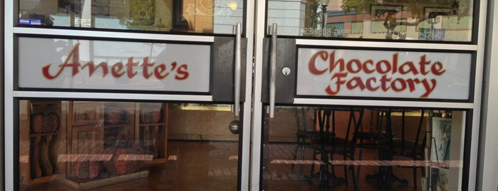 Anettes Chocolate Factory is one of Napa Valley Coffee Joints.
