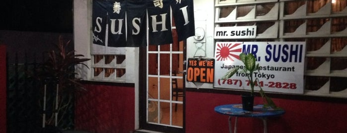 Mr. Sushi is one of Guide to Vieques's best spots.