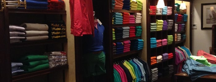 Ralph Lauren is one of Boutiques.