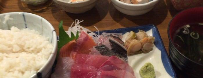 魚屋はちまき is one of 美味しいもの.