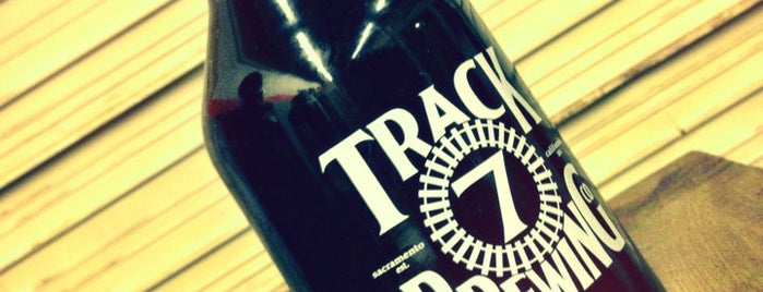 Track 7 Brewing is one of Sacramento Bee recommendations.