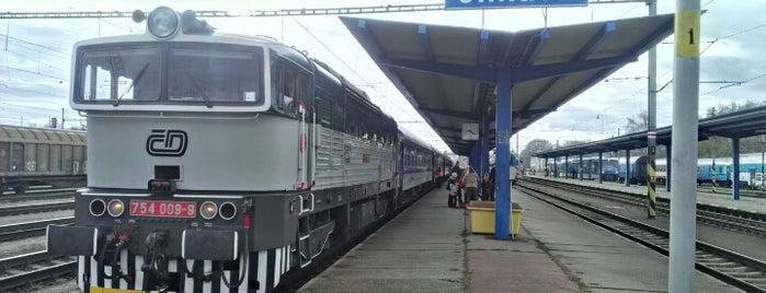 Železniční stanice Jihlava is one of Trať 240 Brno - Jihlava.