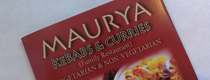 Maurya Indian Cuisine is one of Interesting Restaurants.