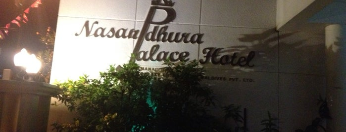 Nasandhura Palace Hotel is one of Cafe's and Restaurants Lists in Male'.