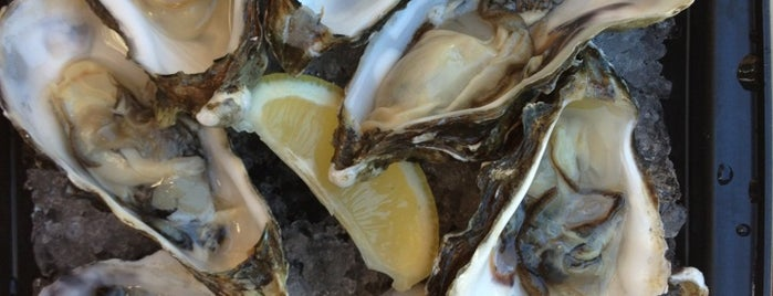 Blush Raw Bar Lounge is one of $1 OYSTERS.
