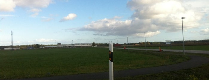 Kristianstad Airport (KID) is one of Airports - Sweden.