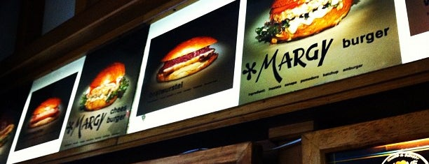 Margy Burger is one of Work, Foodie & similar.
