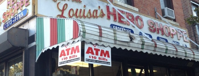 Mama Louisa's Hero Shoppe is one of NYC Food Worth Traveling For.