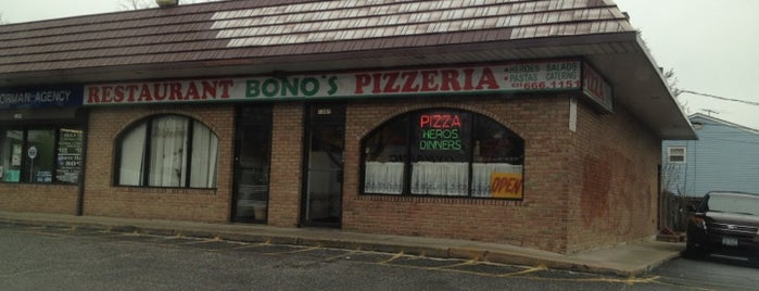 Bono's pizza is one of Must-visit Food in Bay Shore.