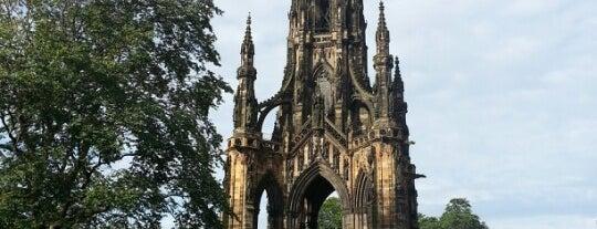 The Scott Monument is one of Edinburgh.